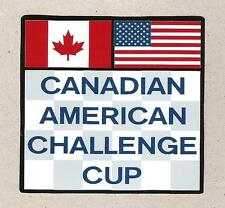 Can-Am Canadian American Challenge Cup Sticker, Vintage Sports Car Racing Decal