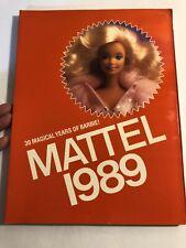 1989 MATTEL TOY STORE CATALOG BARBIE HOT WHEELS HE-MAN MOTU ETERNIA