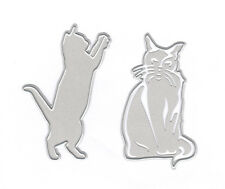 Kitty Cat CATS Die Set Craft Die Cutting Dies Joy! Crafts 6002/0694 New