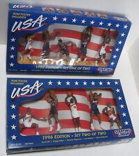 Basketball Team Usa 1996 - (10) Figures - Set 1 & 2 - Sealed