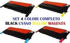 CARTUCCIA PER SAMSUNG CLX 3170 CLX 3175 SET 4 COLORI BLACK CYANO YELLOW MAGENTA