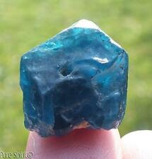Blue Apatite Crystal Lge Terminated Point Raw Mineral High Grade 4.7g/23ct 16mm