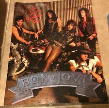 Bon Jovi The Jersey Syndicate Concert Tour Program Book 1988