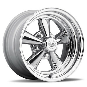 """15"""" SS Cragar Old School US Wheel Staggered Fitment to Suit Holden HQ HZ HX HJ"""