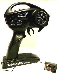 Traxxas 1/10 Rustler Stampede Slash TOP QUALIFIER 2.4 GHz RADIO AND RECEIVER