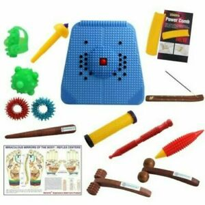 ACUPRESSURE MAT - POWERMAT 2000 FOR STRESS AND PAIN RELIEF AND TOTAL HEALTH CARE
