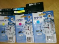 Epson 27 Printer Cartridges x 8 Empty Never been refilled