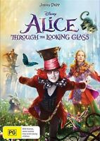 Alice Through The Looking Glass (DVD, 2016) -FREE POST