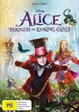 Alice Through The Looking Glass (Dvd) Adventure Family Fantasy Johnny Depp Film