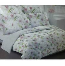 new listing3 pc dkny donna karan floral comforter set king new 100 cotton shell 107x92