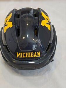 # 7 Michigan Wolverines Hockey practice worn Easton Sz Small E700 helmet