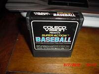 Super Action Baseball (ColecoVision, 1983)