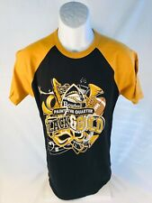 Paint the Quarter Black/Gold Tee Shirt    Size:  Small