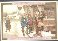 Liebig - Christmas in Different Countries S351 (Fremch) - England - Christmas Ev