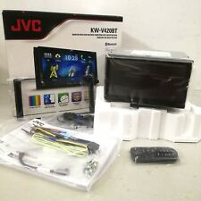 "JVC KW-V420BT Multimedia Receiver 7"" WVGA Touch Panel Bluetooth Car Player"
