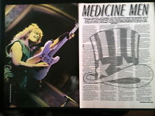 Original Early Bon Jovi Interview Article New Jersey Album 4 Pages from Kerrang