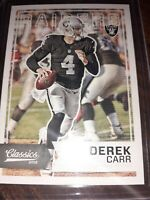 2016 PANINI Classics #89 Derek CARR OAKLAND Raiders FOOTBALL CARD