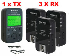 YONGNUO YN-622C-TX Flash Controller + 3 YN-622C Trigger Set for Canon