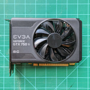 EVGA GeForce GTX 750Ti  2GB GDDR5 - 02G-P4-3753-KR - No Reserve