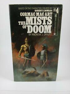 Robert E. Howard Cormac Mac Art #4 Mists of Doom PB Andrew J Offutt 1st print