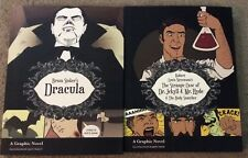 Bram Stroker's Dracula & Dr. Jekyll & Mr. Hyde Graphic Novels New Horror