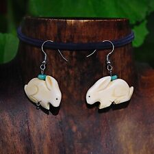 Artisan Hand Made Bunny Earrings
