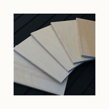 5 A6 BIRCH PLYWOOD PLAQUES 6 x 3 3/4 INCHES APROX  PYROGRAPHY CRAFT BLANKS