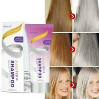 Blonde Purple Hair Shampoo Removes Yellow and Brassy Tones for Silver Ash 100ml
