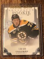 2017-18 Upper Deck Artifacts Charile McAvoy Rookie Limited 728/ 999
