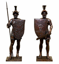 2 Torwächter - Römische Krieger - signiert Bertel Thorvaldsen