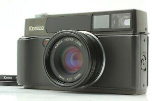 """"""" MINT+++ """" Konica HEXAR AF Black 35mm Rangefinder Film Camera From Japan #473"""