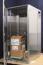 Hoffman PTHS482428XA Protek Stainless Steel Cabinet Solid Door, AC, Nema 4