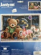 Janlynn Counted Cross Stitch Kit, Goodnight Bears