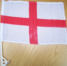 England Car Flag With Unbreakable Stick 12'x16'