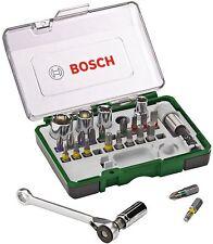Bosch Professional 27 Pcs Mini Ratchet Socket Screwdriver Bit Set