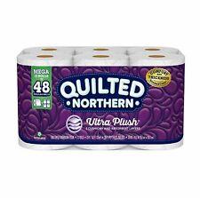 Quilted Northern Ultra Plush Toilet Paper, 12 Mega Rolls = 48 Regular Rolls