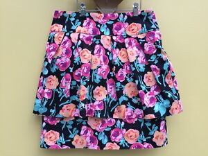 New look ladies floral pattern skirt size UK 10 🌺