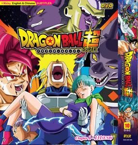 DRAGON BALL SUPER Complete TV Series Vol.1-131 End ANIME DVD Eng Subs +Free Ship