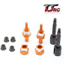 Adaptor Conversion kit Orange from 1/5 FG wheel to 1/5 HPI  Baja 5B 5T 5SC