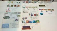 JOB LOT Post Office FIRST DAY COVER Stamps GREAT BRITAIN 1976-1996 -FAST POSTAGE