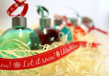 Christmas Baubles Hanging Shots Gift Fillable Fill For Example Gin 6 PACK