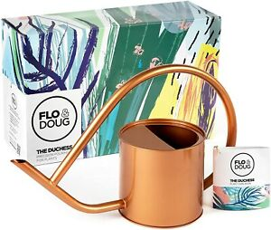 Flo & Doug Copper Watering Can - 40 oz - Indoor/Outdoor - FAST SHIPPING