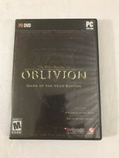Elder Scrolls IV: Oblivion -- Game of the Year Edition  (PC, 2007) Ships N 24hrs