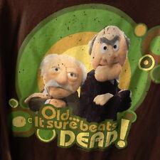 Disney Parks Muppets Statler & Waldorf Old It Sure Beats Dead T-Shirt