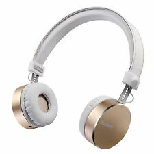 Noise Cancelling Headphones Sprank [Metal and Leather] Wired Over-ear Deep Ba...