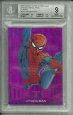 2017 Marvel Fleer Ultra Spider-Man Precious Metal Gems Purple Mint 9 #ed 5 / 5