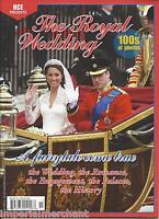 Kate Middleton Royal Wedding Magazine Prince William Romance Engagement History