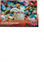 2015 TOPPS ROOKIE CARD RED SOX PITCHER EDUARDO RODRIGUEZ