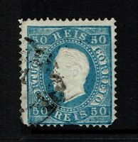 Portugal SC# 43, Used, Perf 13.5, few pulled perfs - Lot 082217