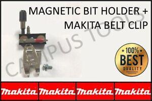 Makita belt hook clip & magnetic bit & screw holder 18V 10.8v Impact DrillDriver